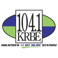Logo of radio station KRBE 104 FM