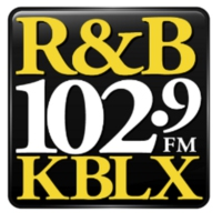 Logo of radio station KBLX R&B 102.9