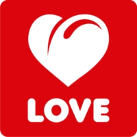 Logo of radio station Love Radio