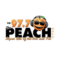 Logo de la radio WHPH The Peach 97.7