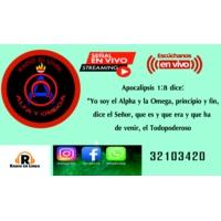 Logo de la radio alfa y omega jocotan