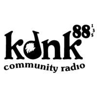 Logo of radio station KDNK