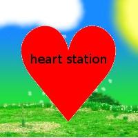 Logo of radio station Heart Station Radio