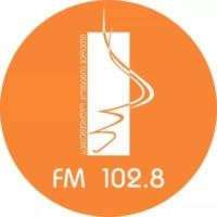 Logo of radio station ჰერეთს რადიო FM 102.8