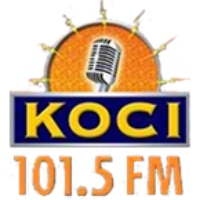 Logo of radio station KOCI 101.5
