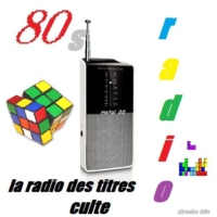 Logo of radio station radio 80s