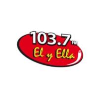 Logo of radio station XHCGT Él Y Ella 103.7FM