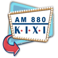 Logo of radio station KIXI 880 AM