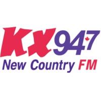 Logo of radio station KX 94.7