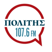 Logo of radio station Πολίτης 107.6 FM