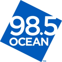 Logo of radio station CIOC-FM Ocean 98.5