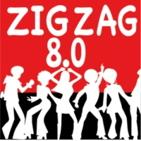Logo of radio station Zig Zag 8.0