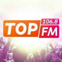 Logo of radio station Top FM 106.8
