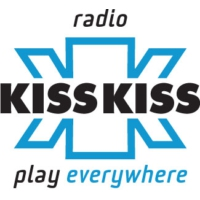 Logo of radio station Kiss Kiss