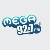 Logo of radio station Mega 92.7 FM