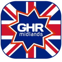 Logo de la radio Groovy Happy Radio Midlands UK