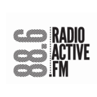 Logo of radio station RadioActive FM