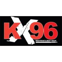 Logo of radio station CKX - KX96
