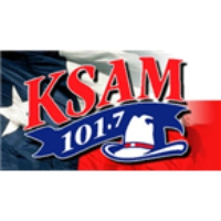 Logo de la radio KSAM 101.7