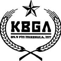 Logo of radio station KBGA College Radio