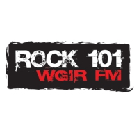 Logo of radio station WGIR-FM Rock 101