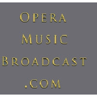 Logo of radio station Opera Music Broadcast