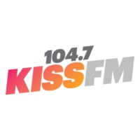 Logo of radio station KZZP 104.7 KISS FM