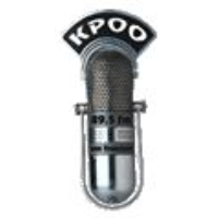 Logo of radio station KPOO FM 89.5