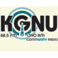 Logo of radio station KGNU