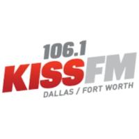 Logo of radio station KHKS 106.1 Kiss FM