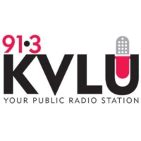 Logo of radio station 91.3 KVLU
