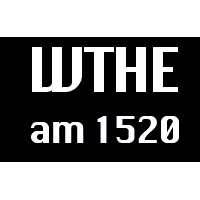 Logo of radio station WTHE