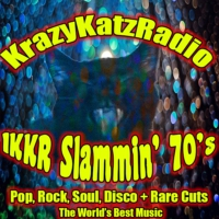 Logo of radio station 1KKR - Slammin' 70's