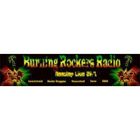 Logo of radio station Burning Rockers Radio