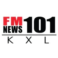 Logo of radio station KXL News