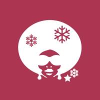 Logo of radio station 100 % Black Soul Christmas