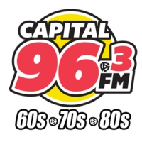 Logo of radio station CKRA-FM Capital 96-3