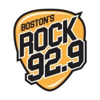 Logo of radio station WBOS ROCK 92.9