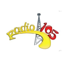 Logo of radio station Radio 105 Bombarder