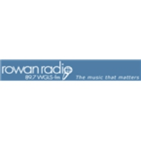Logo of radio station WGLS Rowan Radio