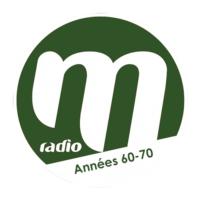 Logo de la radio M RADIO ANNEES 60/70