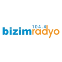 Logo of radio station Bizim Radyo 104.4