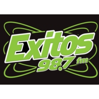 Logo of radio station KXTS Exitos 98.7