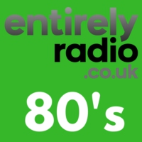 Logo of radio station Entirely Radio 80's