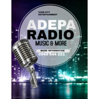 Logo of radio station Adepa Radio