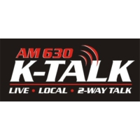 Logo of radio station KTKK Talk 630 AM