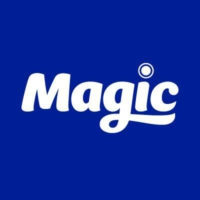 Logo of radio station Magic 105.4 FM