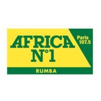 Logo de la radio Africa N°1 Rumba