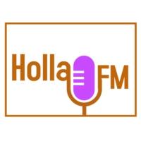 Logo de la radio Holla FM