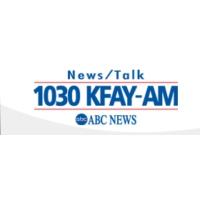 Logo of radio station KFAY 1030